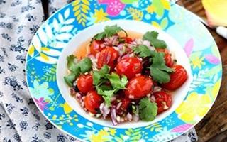 Salad cà chua thanh mát