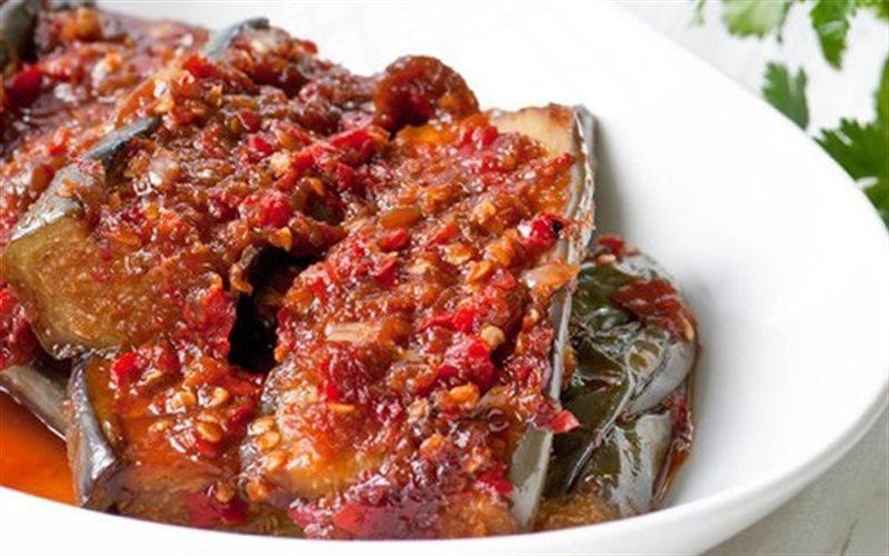 Cách làm Cà Tím Sốt Me chua chua cay cay cực ngon lành