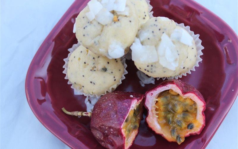 Cách Làm Bánh Muffin Chanh Dây Thơm Ngon Khó Cưỡng