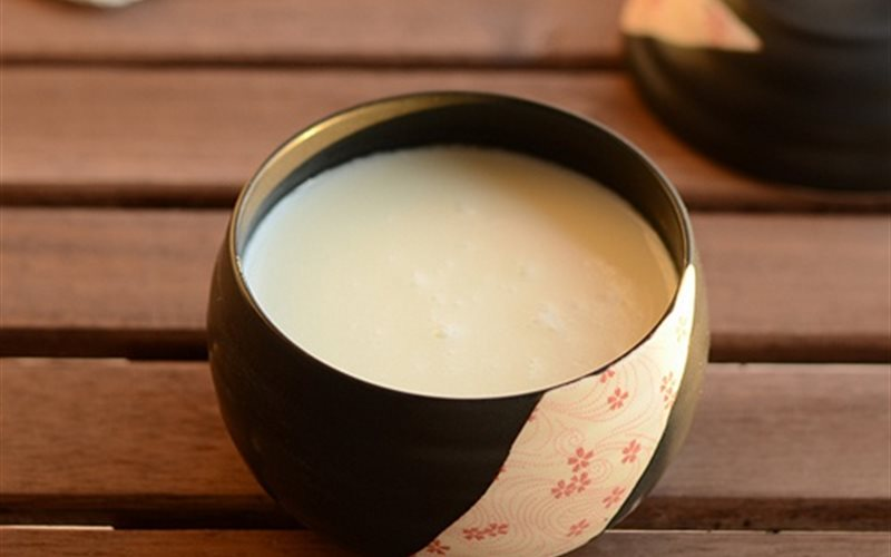 Cách làm Sữa hạnh nhân ngọt ngào