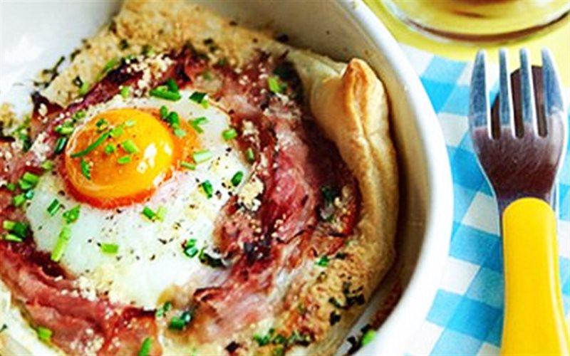 Cách Làm Bánh Trứng Thịt Nguội Ăn Sáng Ngon Miệng