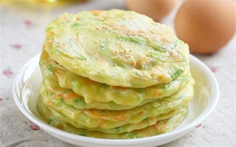 Cách Làm Bánh Trứng Cà Rốt Zucchni Cho Bữa Sáng