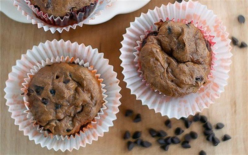 Cách làm muffin chuối chocolate
