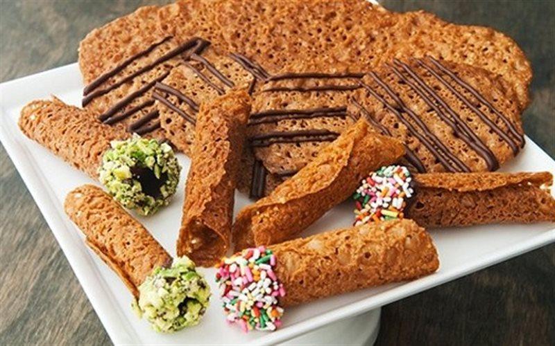 Cách Làm Bánh Quy Hạnh Nhân Tẩm Hạt Dẻ Giòn Tan