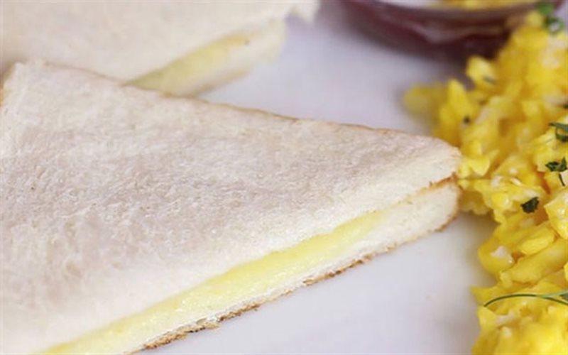 Cách Làm Bánh Mì Sandwich Phô Mai Nướng Với Bàn Ủi