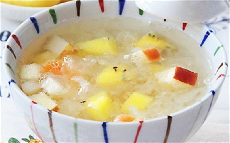 Cách làm Chè Trái Cây Nấu Nấm đơn giản, giải nhiệt mùa hè