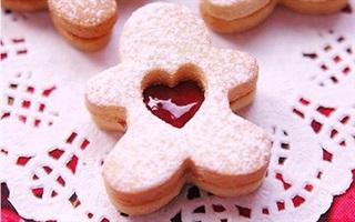 Bánh quy gừng nhân mâm xôi