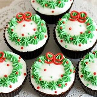 Cupcake giáng Sinh