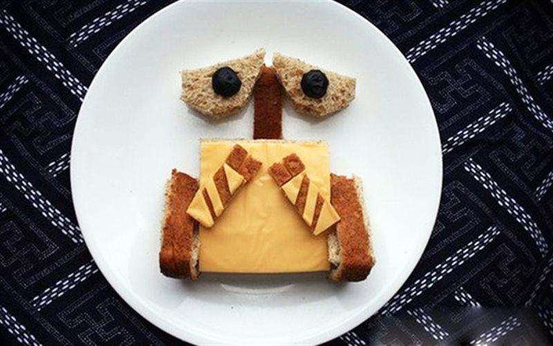 Cách Làm Bánh Sandwich Wall-E Thơm Ngon Đơn Giản