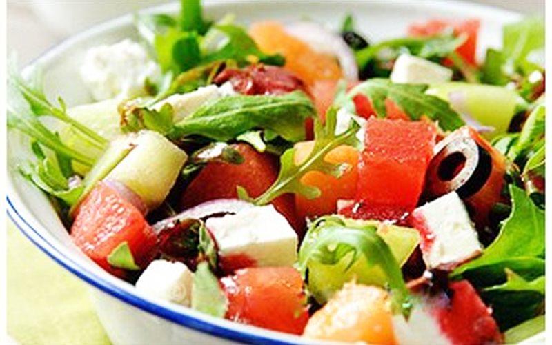 Cách Làm Salad Dưa Hấu Ăn Kiêng Giòn Mát, Hấp Dẫn