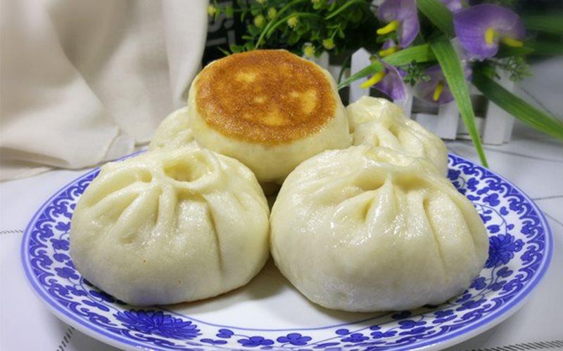 Cách Làm Bánh Bao Nhân Thịt Băm Chiên Áp Chảo Ngon