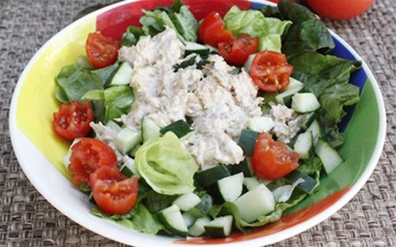 Cách làm Salad Cá Ngừ giảm cân, đơn giản ngay tại nhà