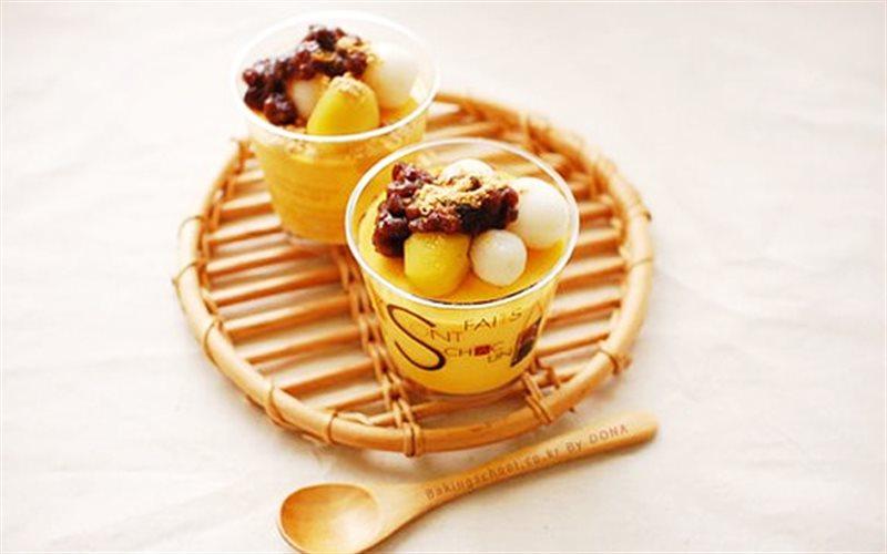 Cách Làm Bánh Trôi Với Pudding Bí Đỏ Thơm Ngon
