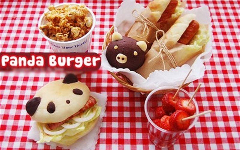 Cách Làm Bánh Mì Panda Burger Đơn Giản Ngon Miệng
