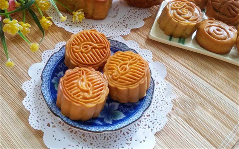 Cách làm bánh nướng trung thu nhân sữa dừa