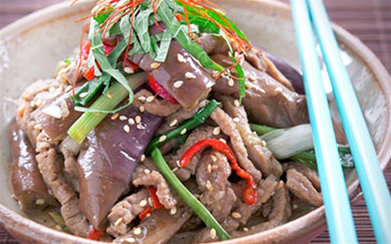 Cách Làm Thịt Bò Xào Cà Tím Thơm Ngon Lạ Miệng