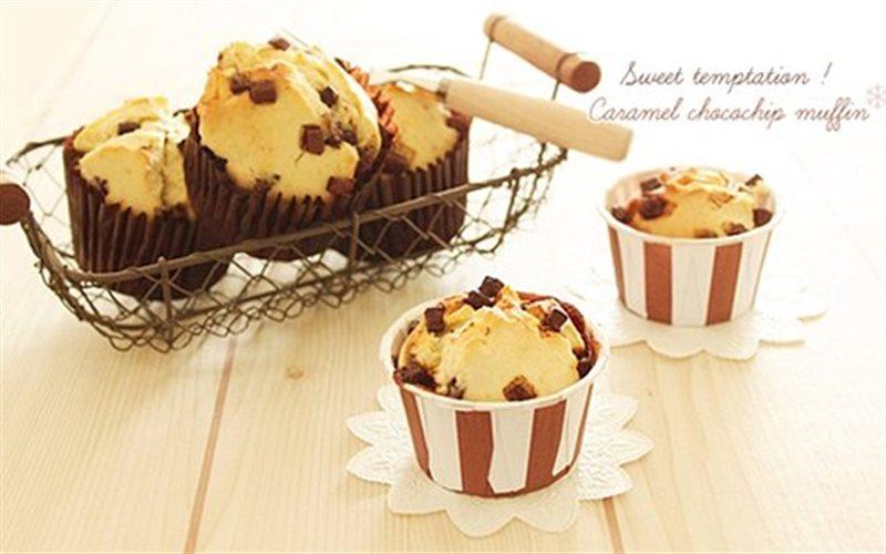 Cách làm Caramel Mix Chocolate nướng mềm xốp và thơm ngon