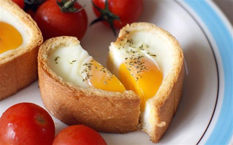 Cách Làm Bánh Mì Trứng Trái Tim Đơn Giản, Đẹp Mắt