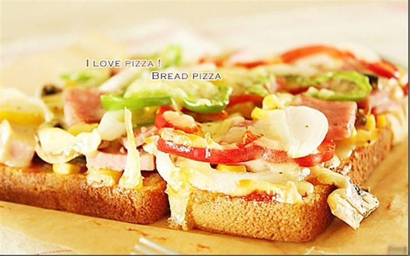 Cách Làm Pizza Từ Bánh Mì Sandwich Thơm Ngon Ở Nhà