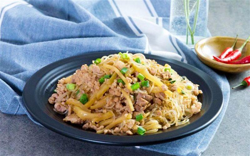 Cách Làm Miến Nấu Thịt Băm Thay Cơm, Giải Ngán