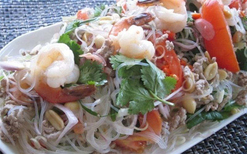 Cách làm Miến Trộn Salad khai vị cho buổi tiệc của gia đình