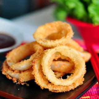 Cách Làm Snack Hành Tây Chiên Giòn Tan Cho Cả Nhà