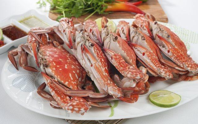 Ghẹ hấp bia- món ăn đơn giản từ hải sản tươi