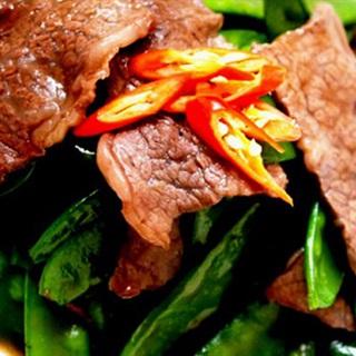 Thịt bò sốt dầu hào