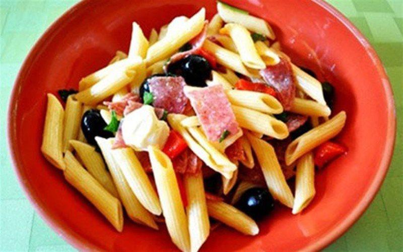 Cách Làm Salad Mì Ý Trộn Dầu Olive Ngon Miệng