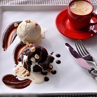 Bánh Brownie kem chocolate