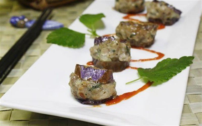 Cách Làm Cà Tím Nhồi Thịt Băm Chiên, Cực Ngon Cơm