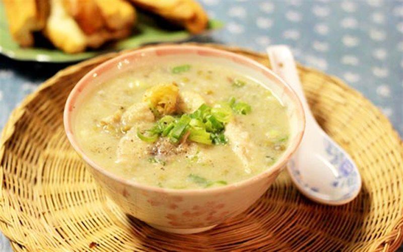 Cách Nấu Cháo Thịt Gà Đậu Xanh Ngon Cho Bữa Sáng