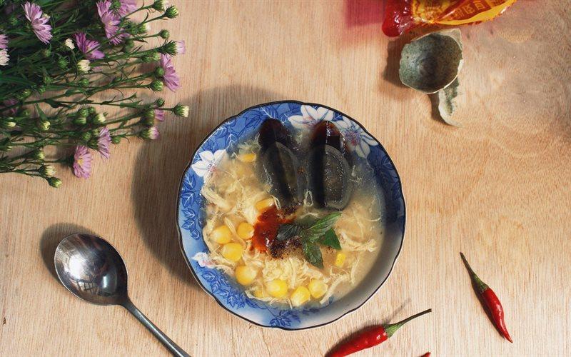 Cách làm Soup Gà cùng bắp mĩ thơm nóng, dinh dưỡng