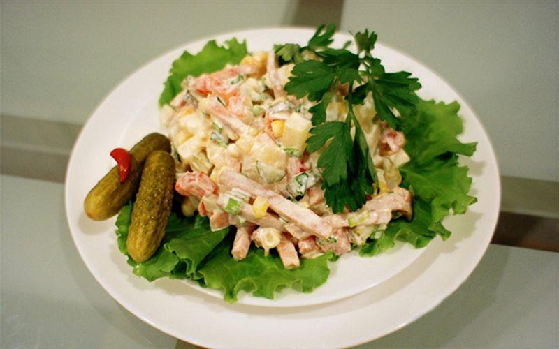 Cách Làm Salad Nga Vị Thơm Lạ Miệng Thơm Ngon