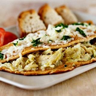 Cách làm Trứng ốp lết bắp cải