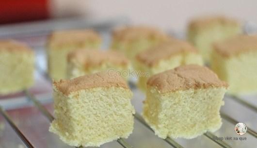 cách làm bánh lamington