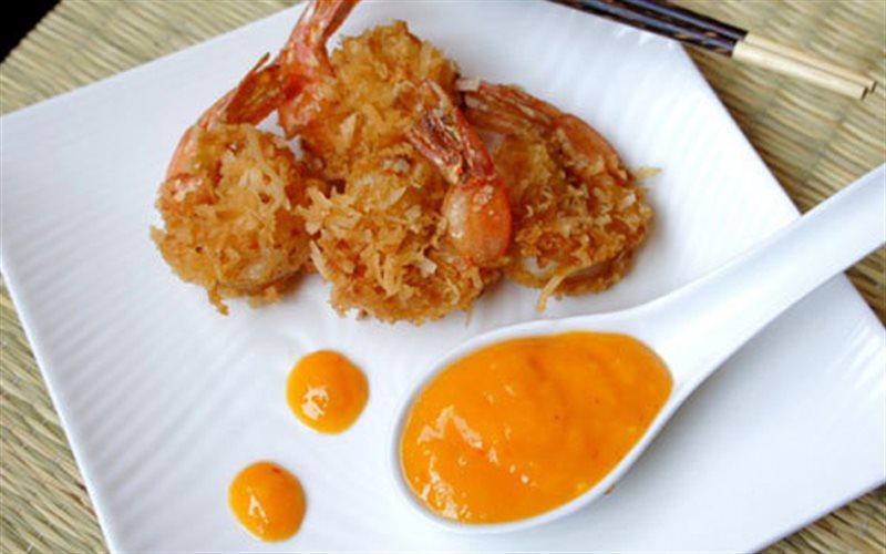 Cách làm Tôm Tẩm Dừa Nạo Chiên Giòn cho bữa tiệc gia đình
