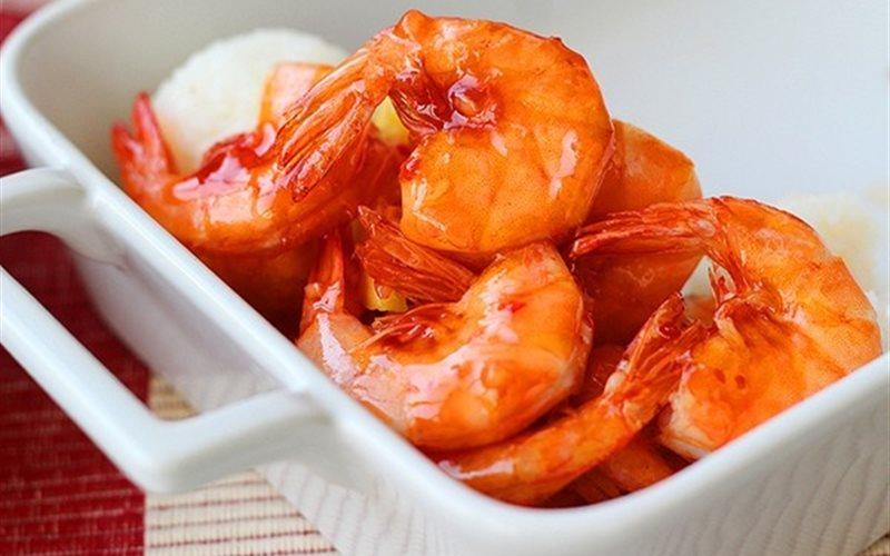 Cách làm Tôm sốt thơm chua ngọt
