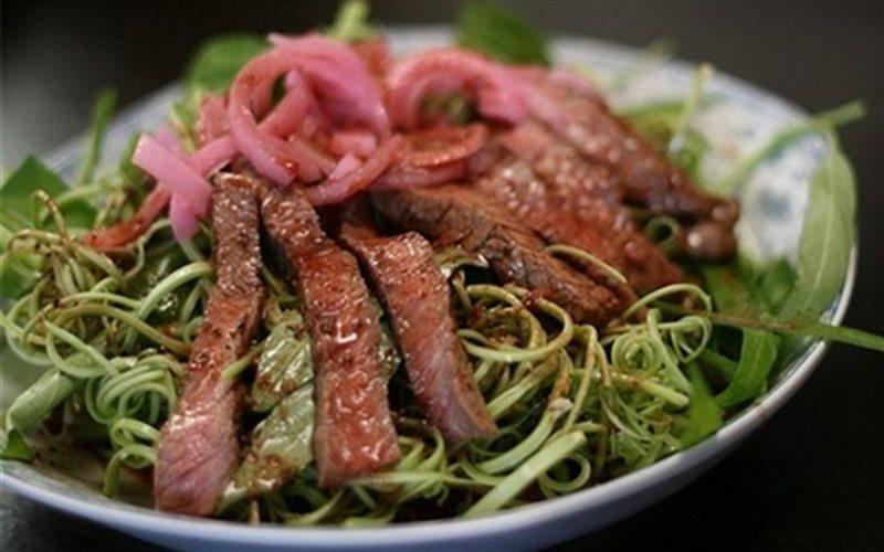 Cách Làm Gỏi Thịt Bò Rau Muống Ngon Khó Cưỡng