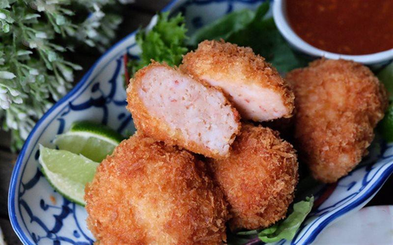 Cách Làm Bánh Tôm Chiên Kiểu Thái Ngon, Giòn Rụm