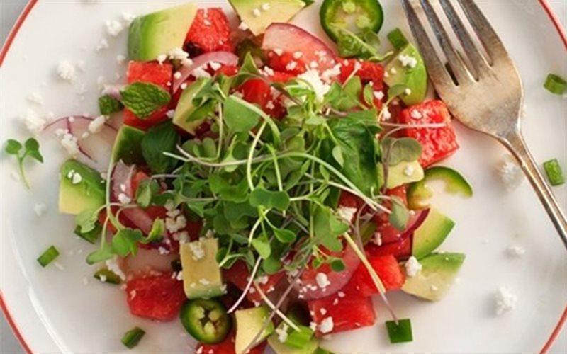 Cách Làm Salad Bơ Dưa Hấu Thơm Ngon Lạ Miệng Ở Nhà