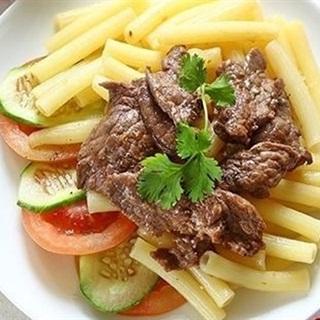 Cách Làm Nui Xào Với Thịt Bò Đơn Giản Ngon Miệng