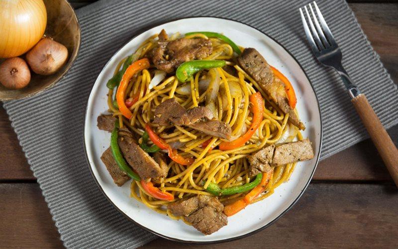 Cách Làm Spaghetti Sườn Ram Tiêu Ngon Khó Cưỡng