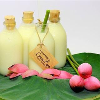 Cách làm sữa hạt sen bổ dưỡng