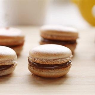 Cách làm bánh macaron cà phê