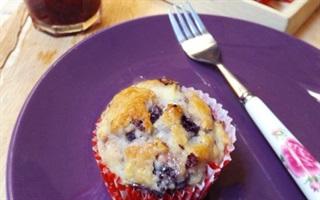 Bánh muffin dâu tằm