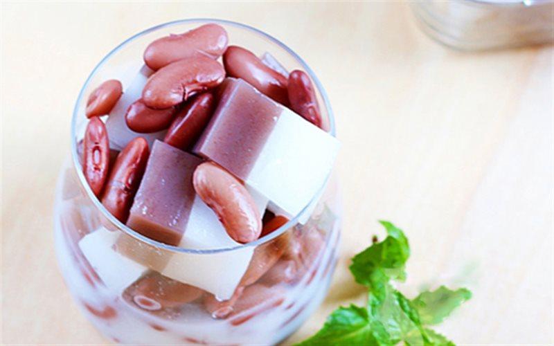 Cách Làm Chè Đậu Đỏ Thạch Dừa Giòn Ngọt Mát Lạnh