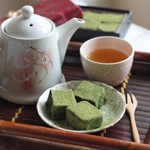 Nama chocolate vị trà xanh