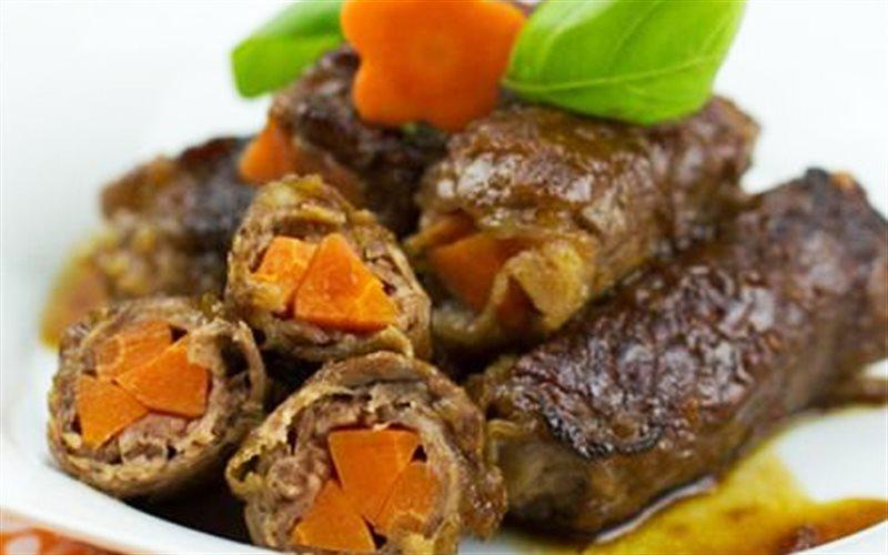 Cách Làm Thịt Bò Cuộn Cà Rốt Cho Bữa Cơm Gia Đình