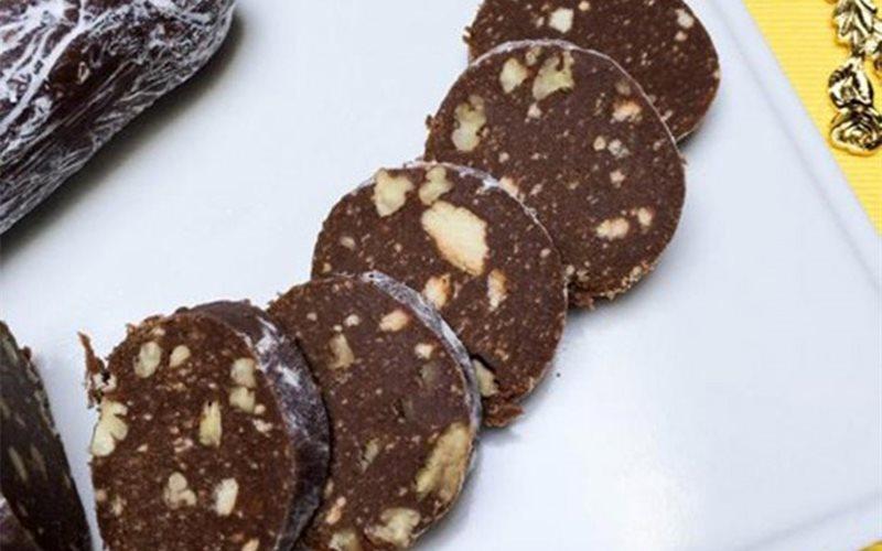 Cách làm Bánh qui chocolate hạt óc chó